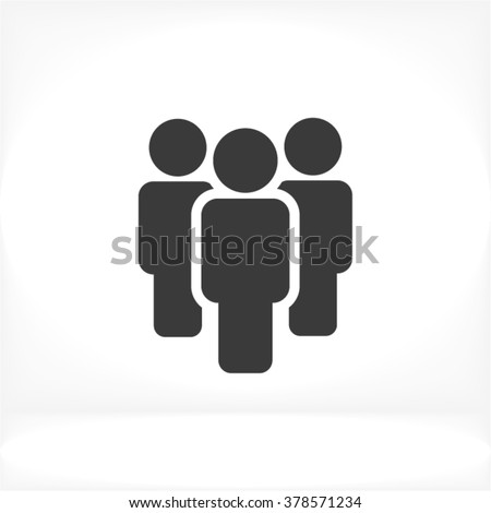 Shutterstock People vector icon
