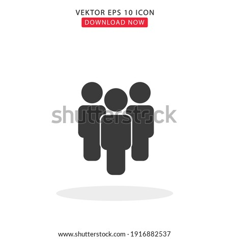 People vektor Simple with white background Stock foto ©