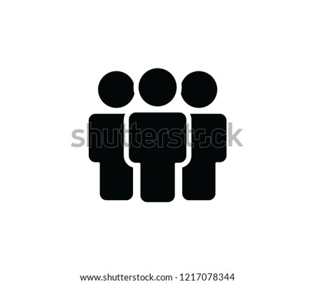 peoples icon vector