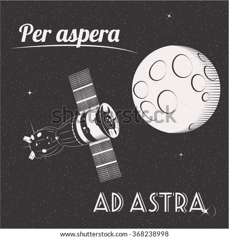 per aspera ad astra through...