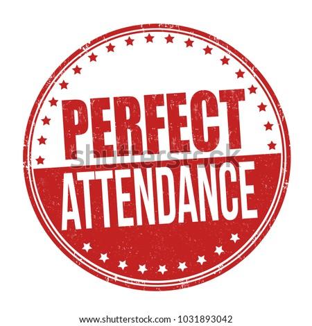 perfect attendance grunge