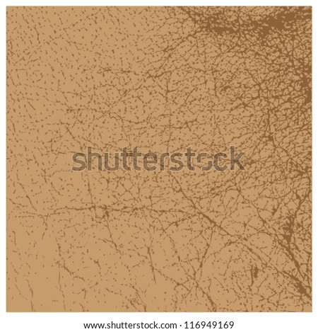 Perfect vector brown leather texture