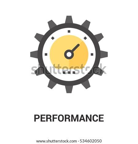 performance icon concept