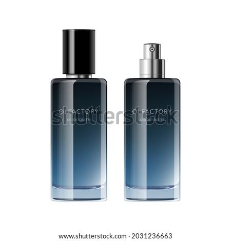 perfume bottle template simple