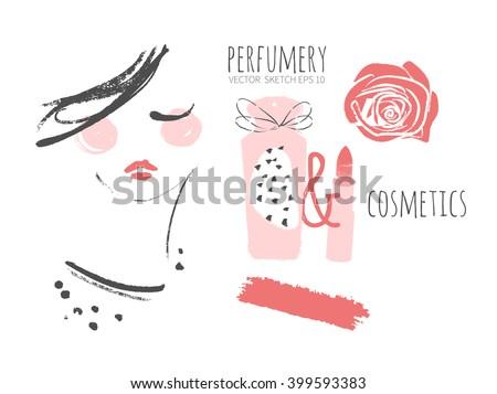 perfumery and cosmetics make