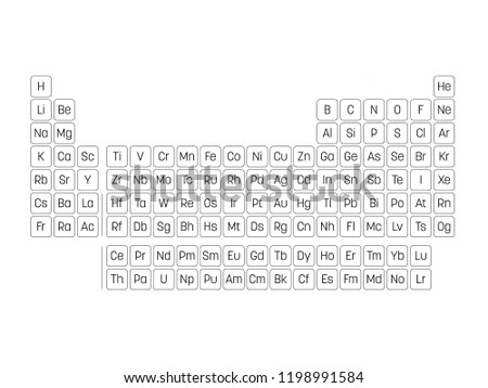 Rounded Periodic Table Download Free Vector Art Stock Graphics