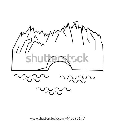 perito moreno glacier in