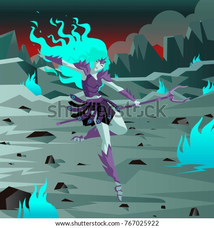 persephone underworld goddess
