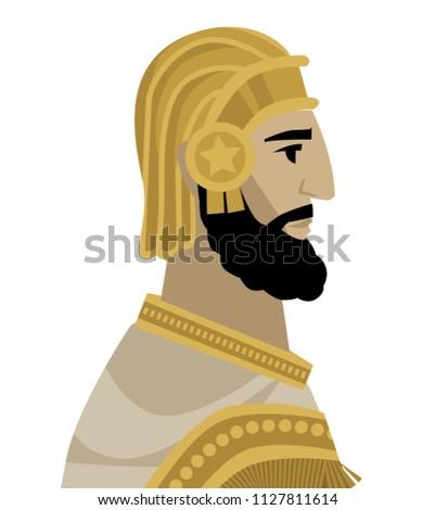 persian emperor king cyrus the