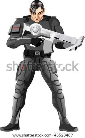 personage  soldier
