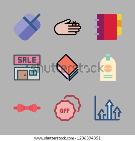personal icon set vector set