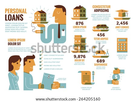 Personal Loans Infographics