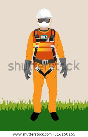 Personal Protect Equipment, safety harness