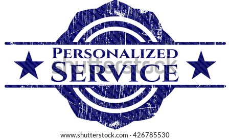 Personalized Service jean background