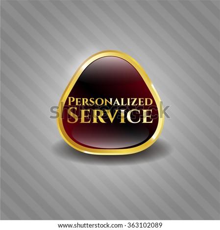 Personalized Service shiny emblem
