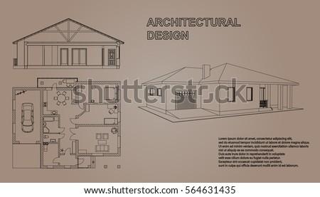 perspective 3d  floor plan and...
