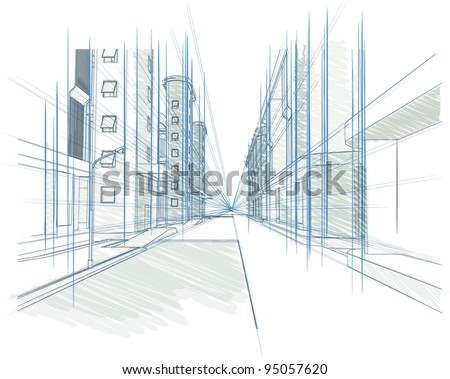 Architectural Conceptual Drawings