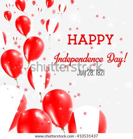 peru independence day greeting
