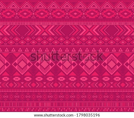 Peruvian american indian pattern tribal ethnic motifs geometric vector background. Unusual native american tribal motifs clothing fabric ethnic traditional design. Navajo symbols fabric pattern.