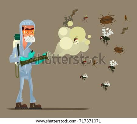 pest control service man