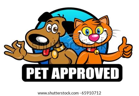 Pet Approved Seal, Mark, Emblem