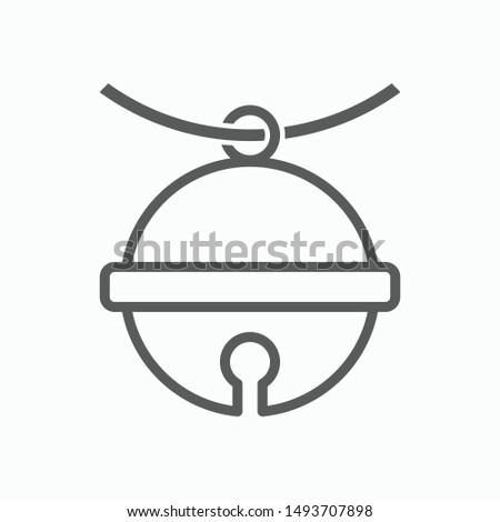 pet bell icon, bell vector