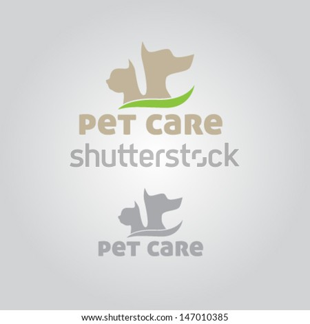 Pet Care Icon Illustration Vector