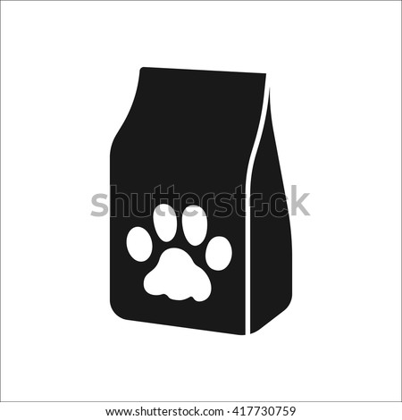 Cat Food Packet Silhouette