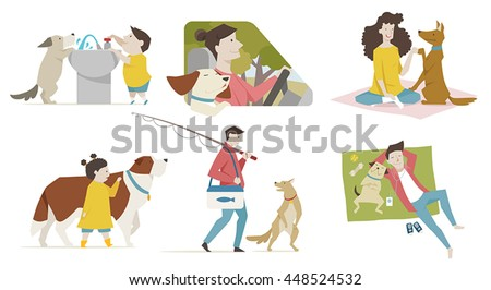 pet with human relationship