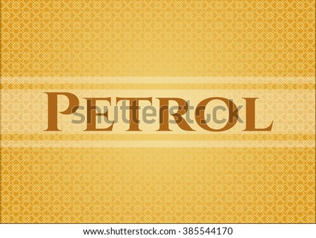 Petrol banner