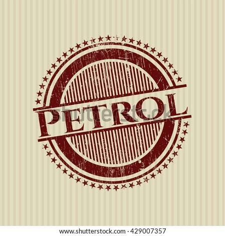 Petrol grunge seal