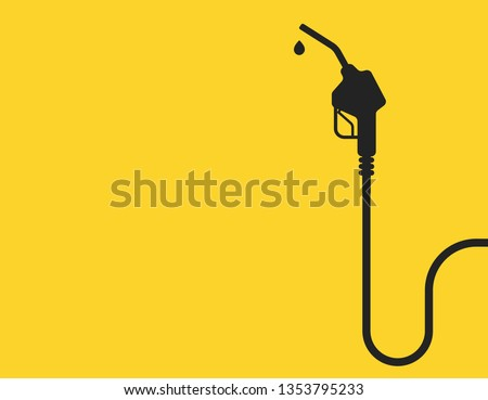 Petrol station icon vector illustration for petrol design and web isolate background. Petrol station vector banner.