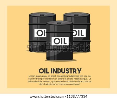 petroleum barrels oil industry