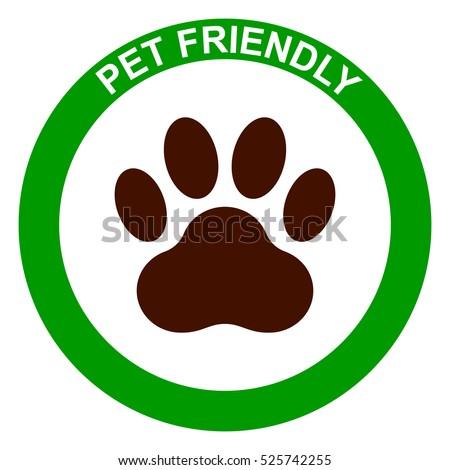 pets allowed  pet friendly sign
