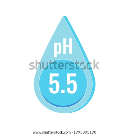ph neutral skin balance vector