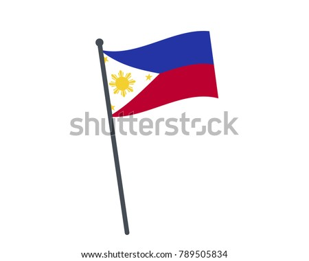 philippines flag the national