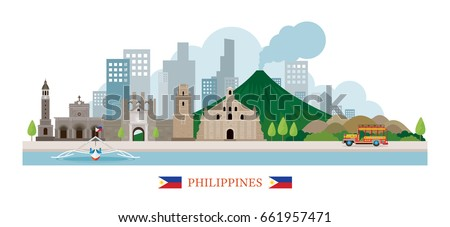 philippines landmarks skyline
