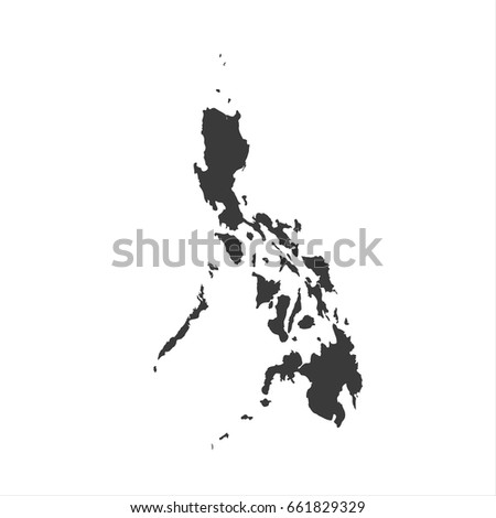 philippines map vector. / philippines map.