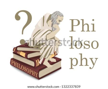 philosophy icon in vector