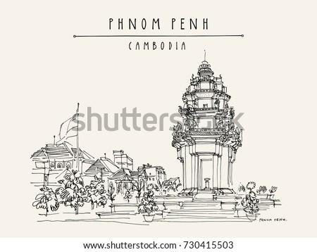 phnom penh  cambodia  asia....