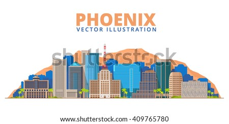 phoenix city skyline arizona