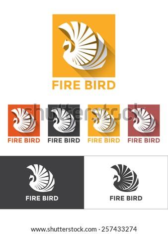 phoenix  firebird logo  long