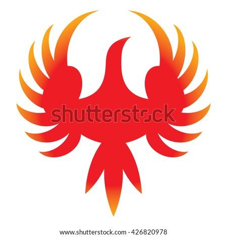 phoenix   vector icon of