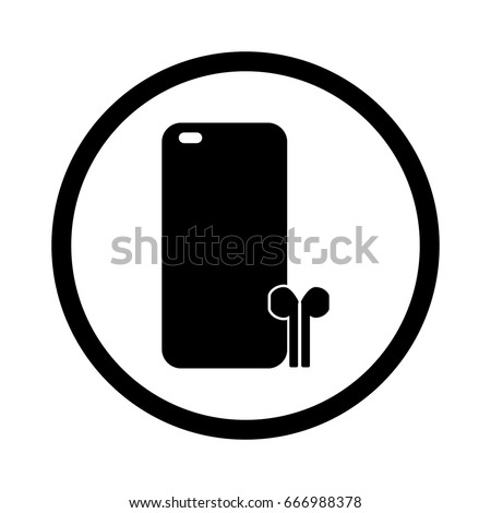 phone accessories - vector illustration