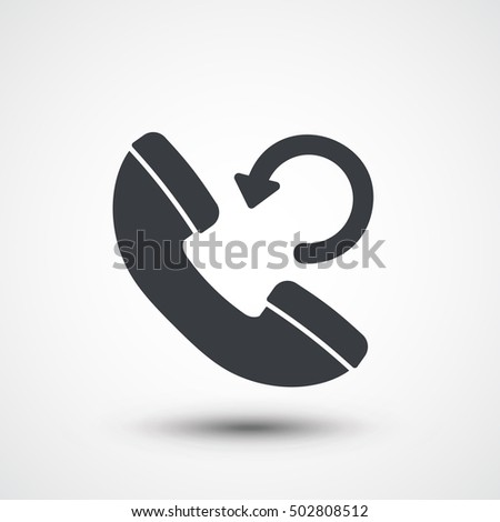 phone call refresh icon