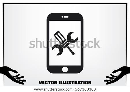 phone icon.