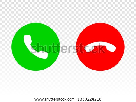 Phone Icon. Phone call. Telephone signal. Comunication symbol. Incoming call. Call Icon. Telephone sign. Call center. Online support sign. Color easy to edit. Transparent background.