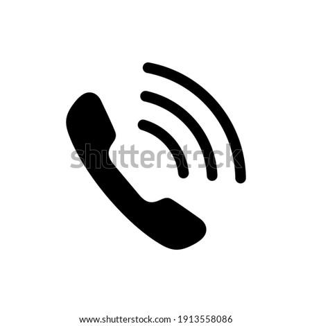 Phone icon, Telephone symbol, Communication icon vector illustration.