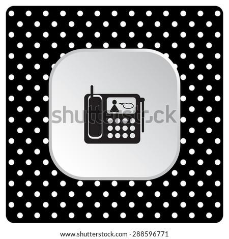 phone. icon. vector design