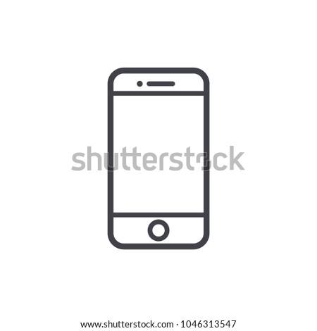 phone icon vector EPS10